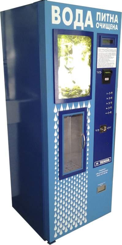 Автомат для очистки воды и ее продажи