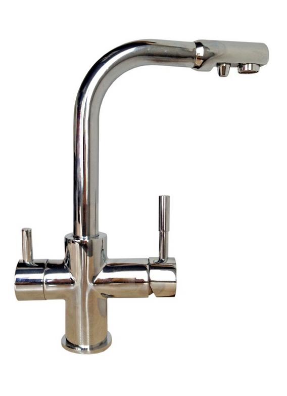 Смеситель с встроенным краном для очищенной воды