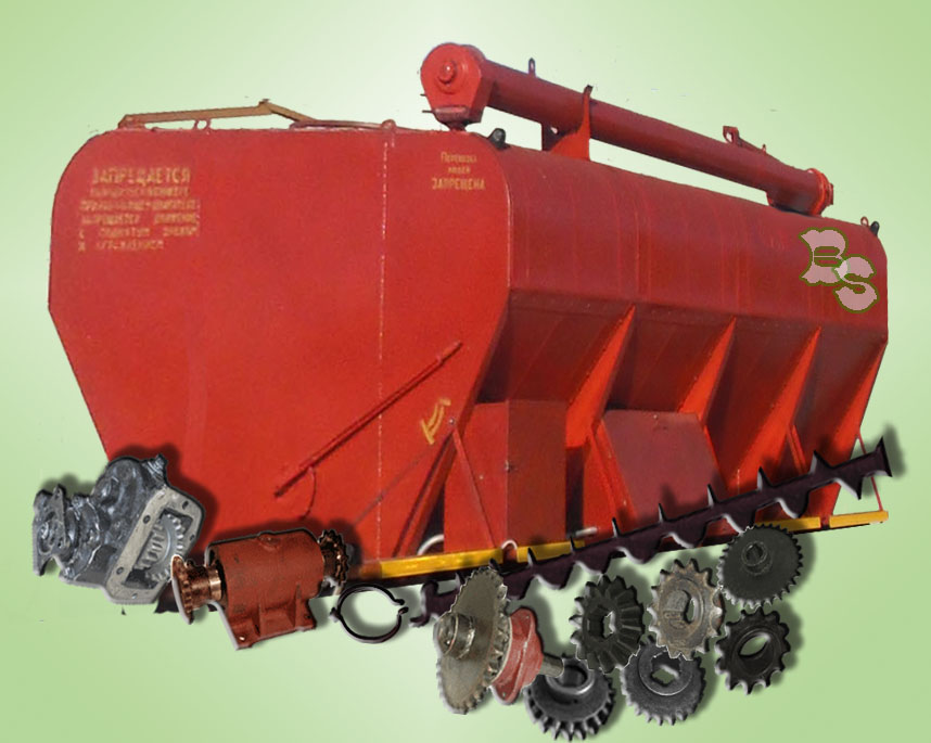 Spare parts to loaders of dry feeds
