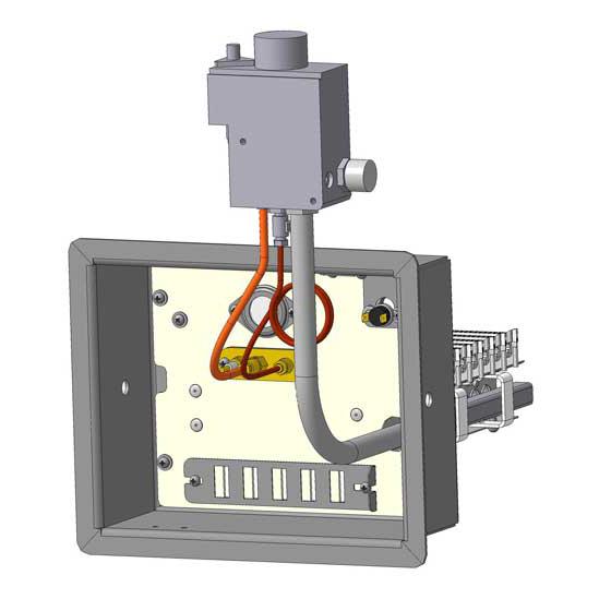 Купить Газовая автоматика (горелочные устройства) для печей Житомир Atem