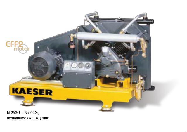 Поршневые бустерные компрессоры высокого давления
