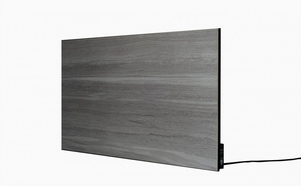 Керамический обогреватель конвекционный Viterm, PLAZA CERAMIC 500-1000Вт Thermo-control Gray