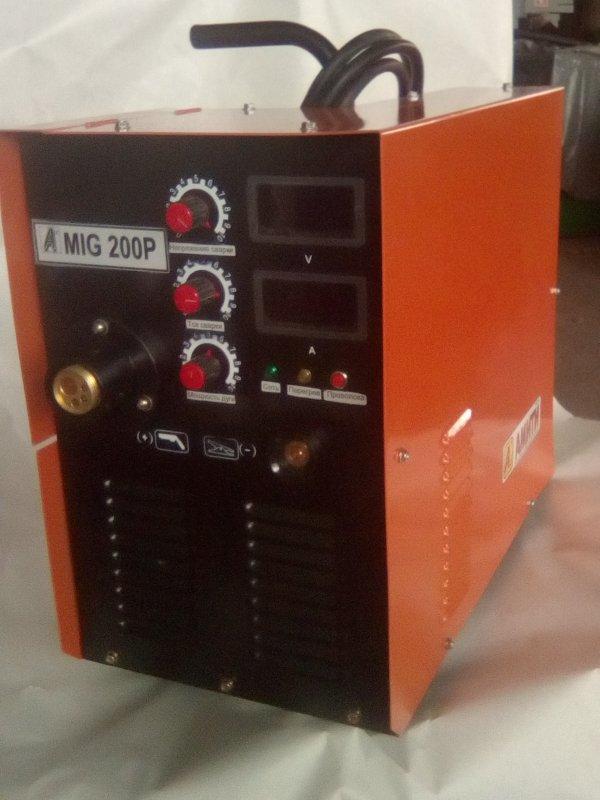 Купить Высокочастотный инверторный сварочный полуавтомат MIG 200P