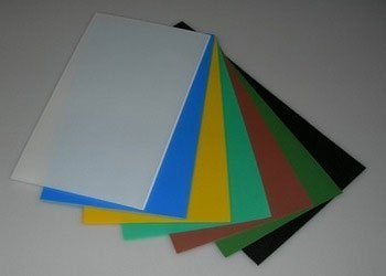 Buy ABS plastic leaf from 1.0 mm of thicknesses the different sizes