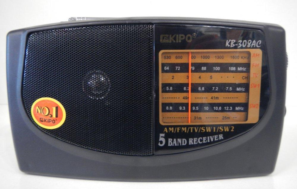 Купить Портативный радиоприемник на батарейках KIPO KB-308AC