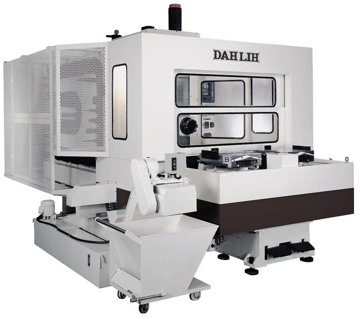 Горизонтальный обрабатывающий центр Dahlih модель MCH-500 с ЧПУ Fanuc