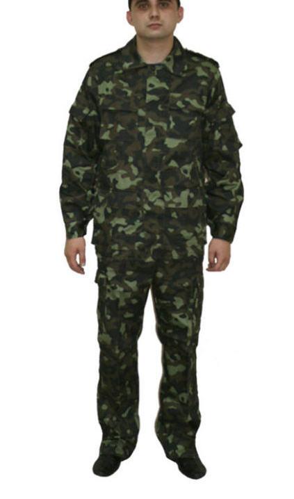 Костюм форменный камуфлированный в/п, рис. Полевой. Одежда форменная по спецификации