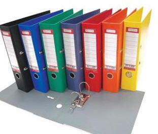 Папка - регистратор Optima Lux 8см O35404