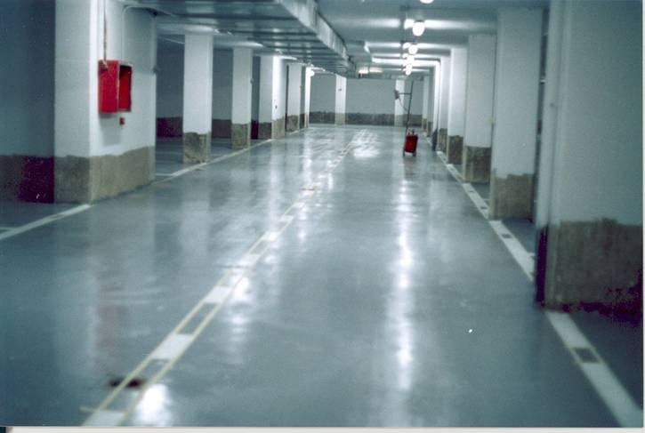 Обеспыливание бетонных полов, технология Pentra
