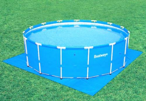 Купить Каркасные круглые бассейны для разведения рыбы, 10м3, 366х122см; 56088