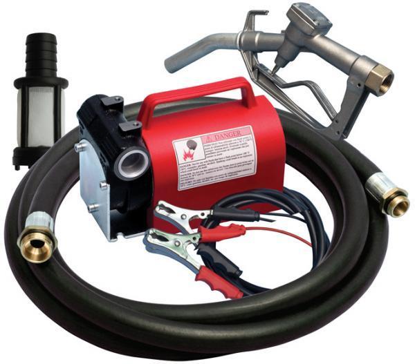 Насос для заправки топлива KIT BATTERIA 12В, 40 л/мин