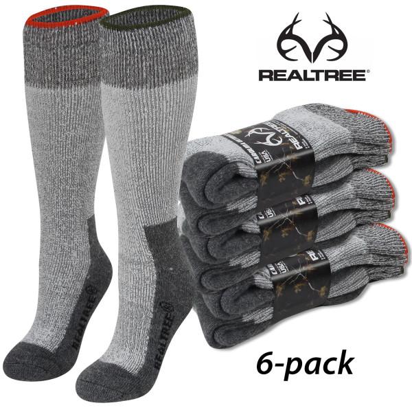 Термоноски для охоты и рыбалки Realtree Merino Wool Blend Heavyweight Boot Socks