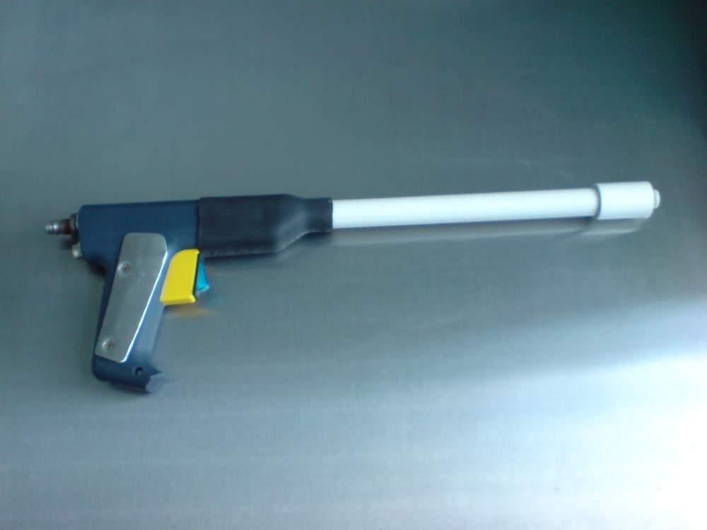 Пистолет для напыления порошковой покраски