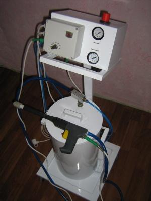 Краскопульт для порошковой покраски POLYMERASER-100 ST .