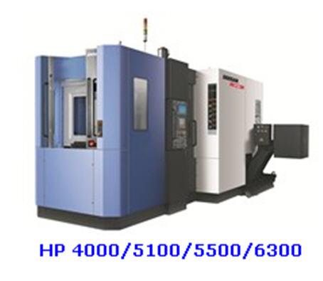Центр горизонтально обрабатывающий серия HP, ЧПУ Siemens S828D, Doosan Infracore