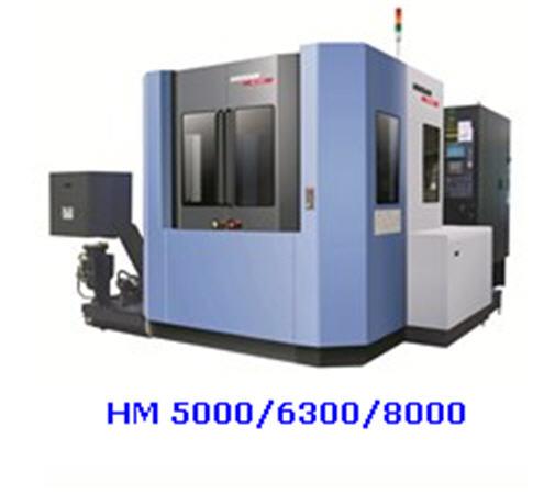 Центр горизонтально обрабатывающий серия HM с повышенной жесткостью модельный ряд HM 5000, HM 6300, HM 8000 (с ЧПУ Siemens S828D) , пр-во Doosan Infracore, (Южная Корея)
