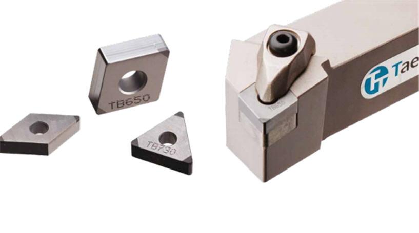 Сплавы CBN для обработки для закаленных сталей и чугун, TaeguTec