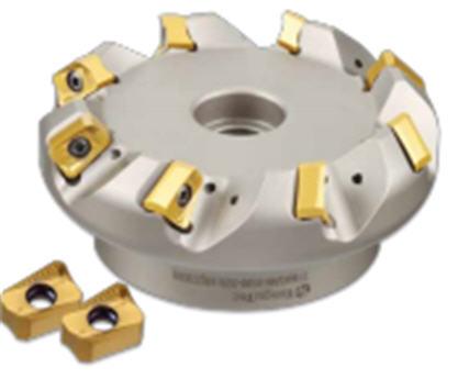 Фрезы Chase2Mill AN16 серия с углом врезания 45° с пластинами с 4-мя режущими кромками, глубина резания - 8.4мм, металлорежущий инструмент для токарной обработки, пр-во TaeguTec (Южная Корея)