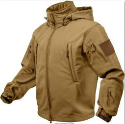 Куртка Rothco Special Ops Tactical Soft Shell Jacket - Coyote Brown