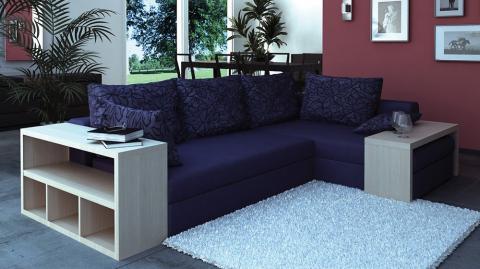 Дизайнерские угловые диваны