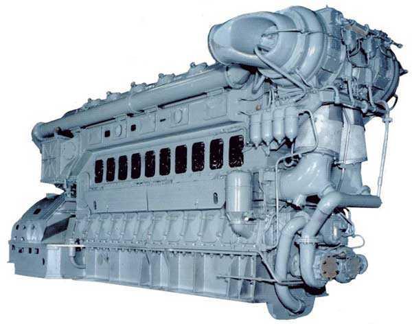 Тепловозный дизель-генератор 10Д100М1А