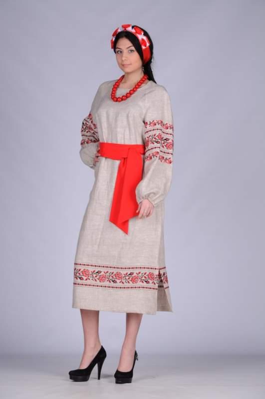 Платья вышиванки женские