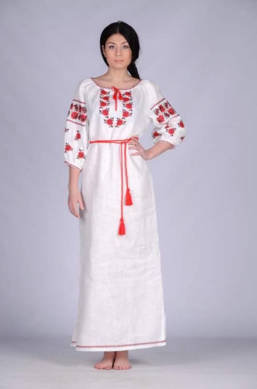 Вышиванка украинская платье