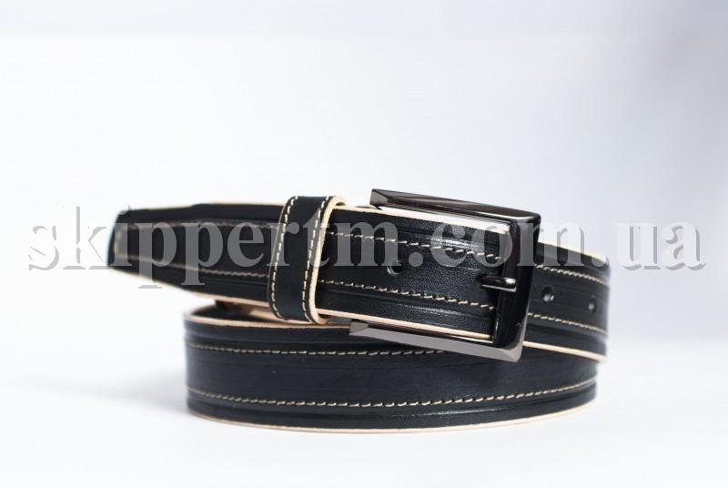 Купить Кожаный ремень для джинсов 40мм, ремни кожаные купить оптом, Украина Экспорт