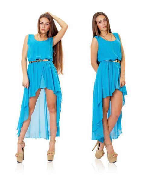 Фото летних платьев со шлейфом