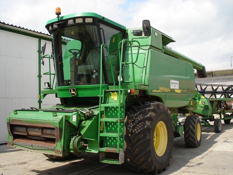 Комбайн зерноуборочный JOHN DEERE 9660 б/у из Германии в хорошем состоянии