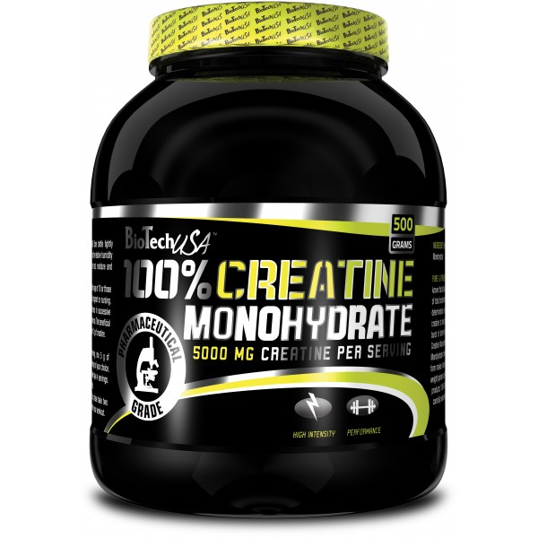 Купить Креатин BioTech USA 100 % Creatine Monohydrate 500 gr