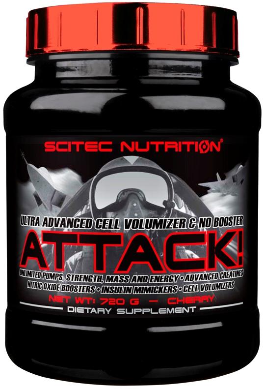 Купити Креатин Scitec Nutrition Attack, 720 г.