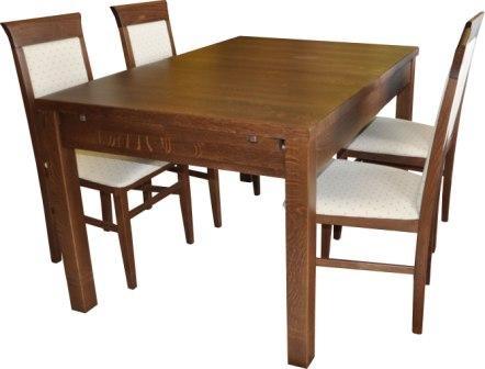Стол деревянный раскладной Санторини - натуральное дерево бук. «Тиволи»