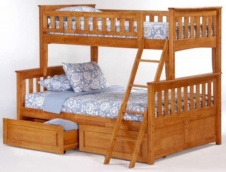 Детские двухъярусные детские кровати