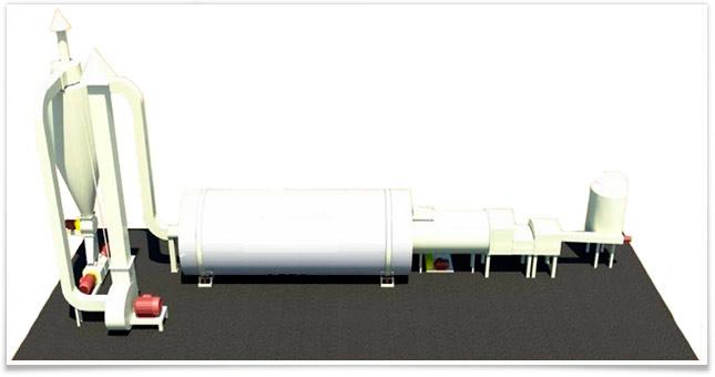 Купити Устаткування сушильне: сушильний комплекс барабанного типу АВМ 0,65 з теплогенератором BVS 300