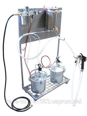 Оборудование для напыления искусственного камня Binks
