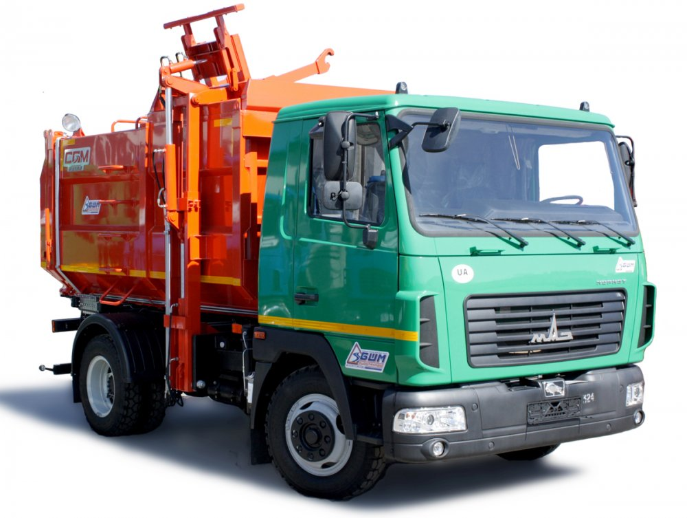 Buy Garbage truck with a back loading of SBM-303/1