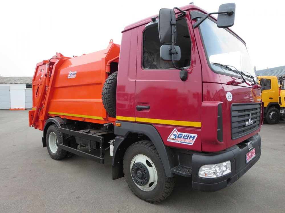 Buy Garbage truck with a back loading of SBM-301/1