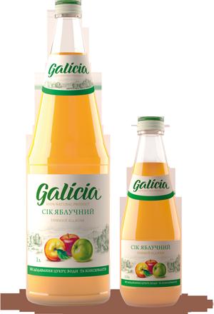 Купить Сок яблочный(концентрированный сок)ТМ Galicia