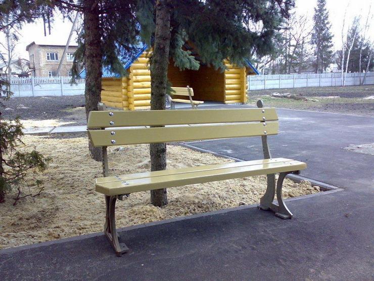 Скамейка парковая,садовая,огородняя