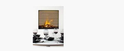 Купить Электрический камин Gala с 3D - эффектом пламени Opti-Myst для установки на стену
