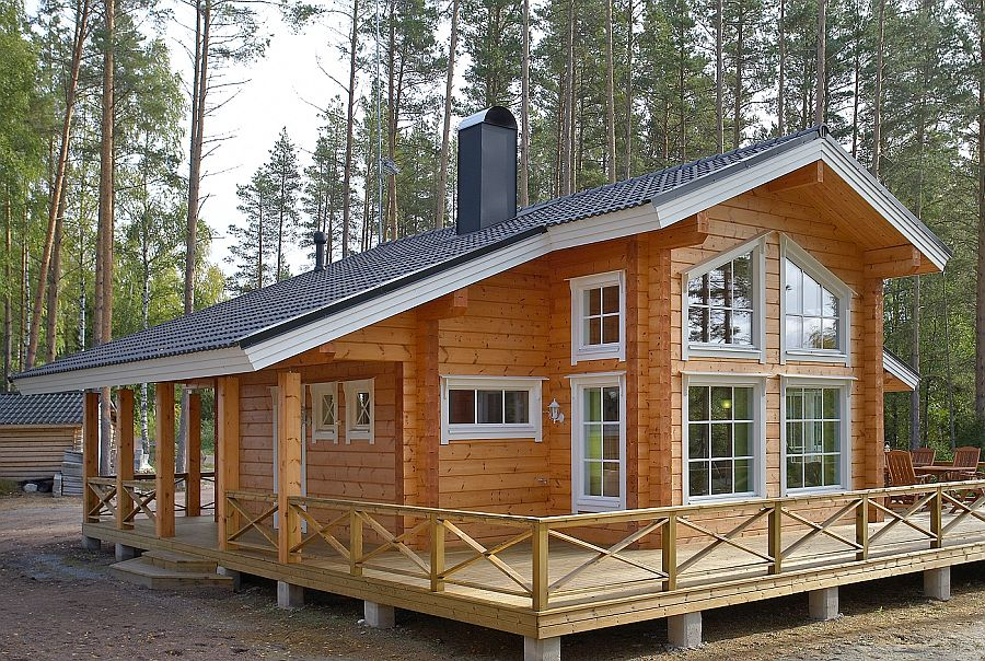 Wooden Houses From Finland Buy In Kiev