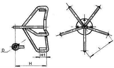 Коромысло 5КУ-25-1