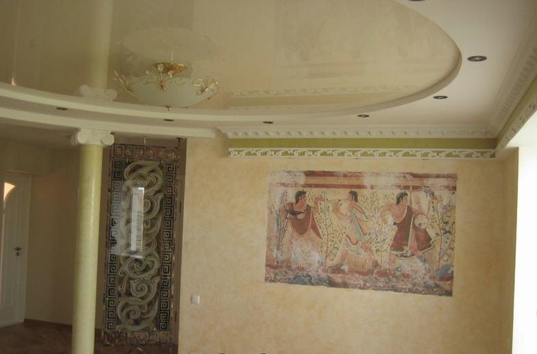 Toile de verre epaisse pour plafond courbevoie devis for Poser toile de verre plafond