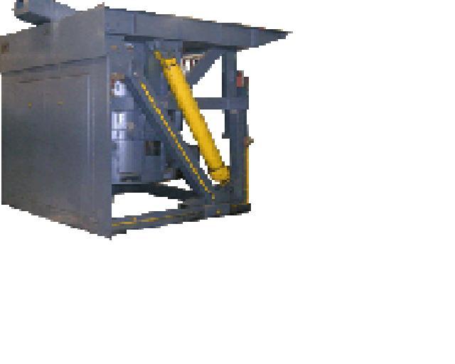 Печи индукционные плавильные ИЧТ 2,5, 0,16,0,4