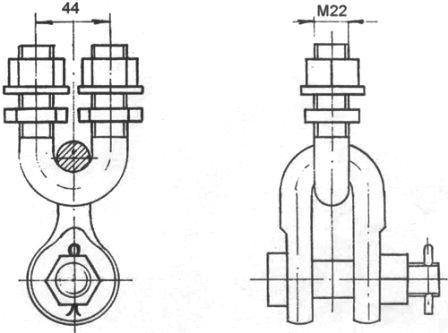 Узел крепления КГП-9/12-2С