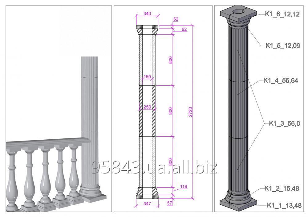 Изготовление колонн из бетона своими руками