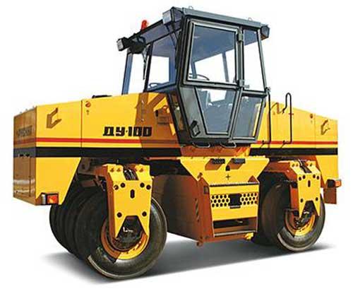 Каток дорожный пневмоколесный ДУ-100