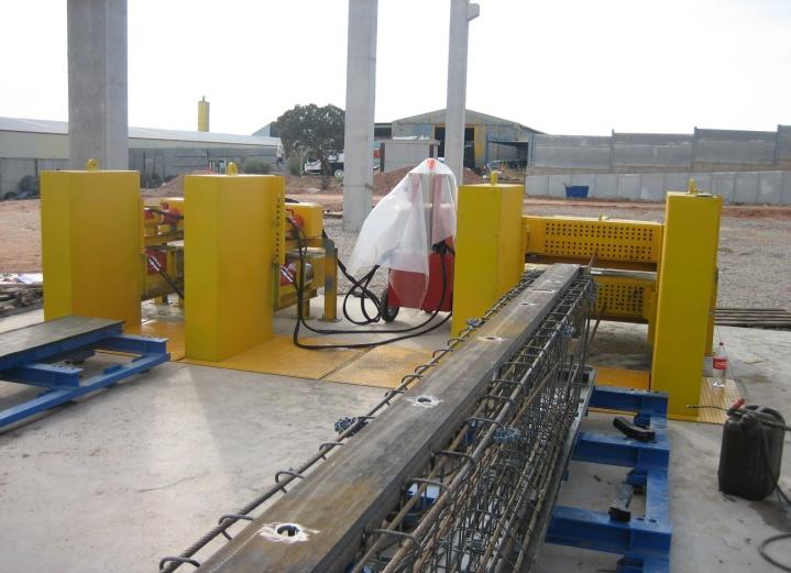 Купити Універсальні стенди PAOLO NANFITO для виготовлення елементів збірного залізо-бетонного каркаса з попередньо напруженою арматурами