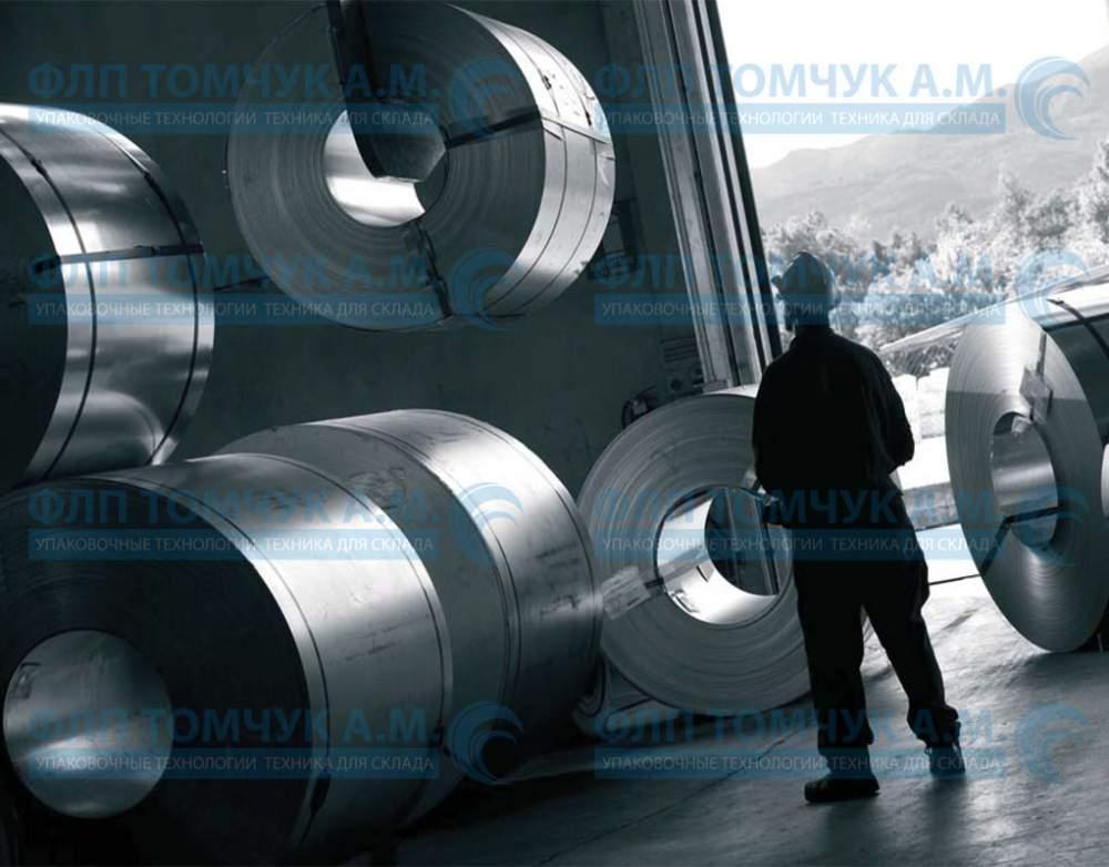 Купить Лента упаковочная стальная